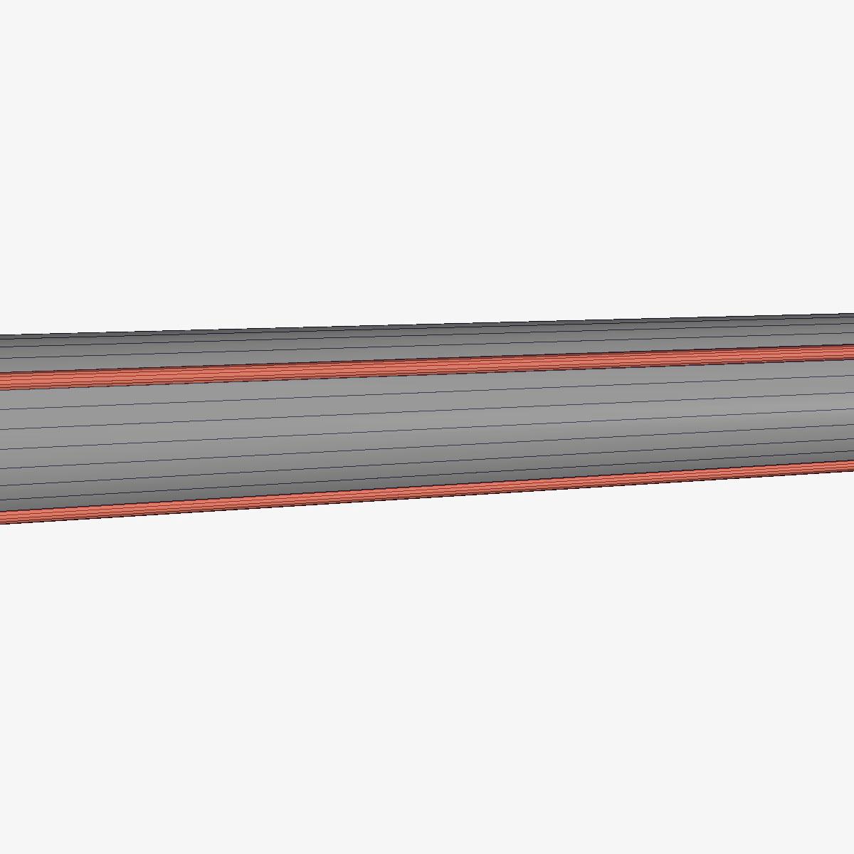 aerobee 170 rocket 3d model 3ds dxf fbx blend cob dae x  obj 166045