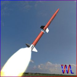 Aerobee 170 Rocket ( 114.96KB jpg by VisualMotion )