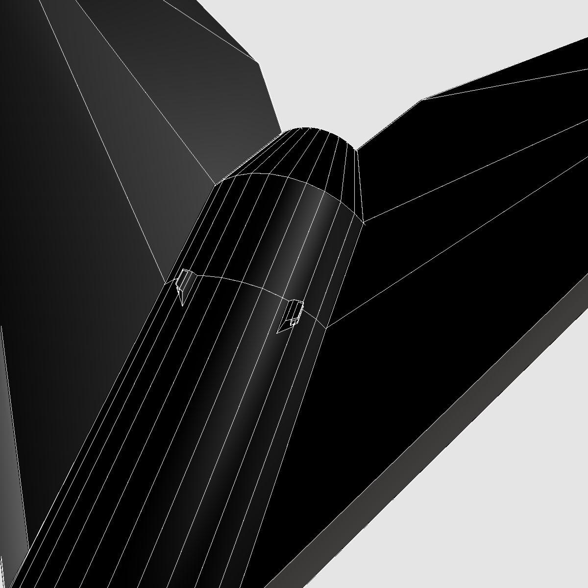 melna brant ii skanoša raķete 3d modelis 3ds dxf cob x obj 150841