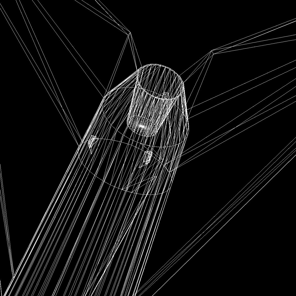 melna brant ii skanoša raķete 3d modelis 3ds dxf cob x obj 150848