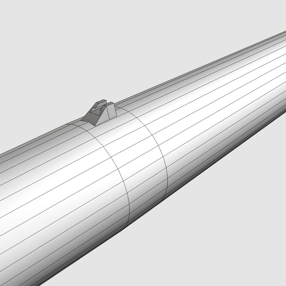 black brant vb sounding rocket 3d model 3ds dxf cob x obj 150880