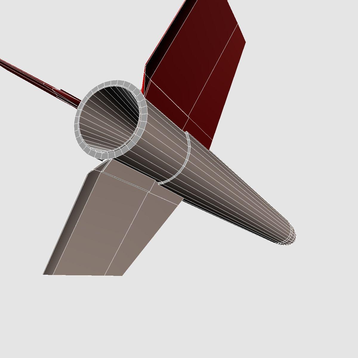 black brant vb sounding rocket 3d model 3ds dxf cob x obj 150883