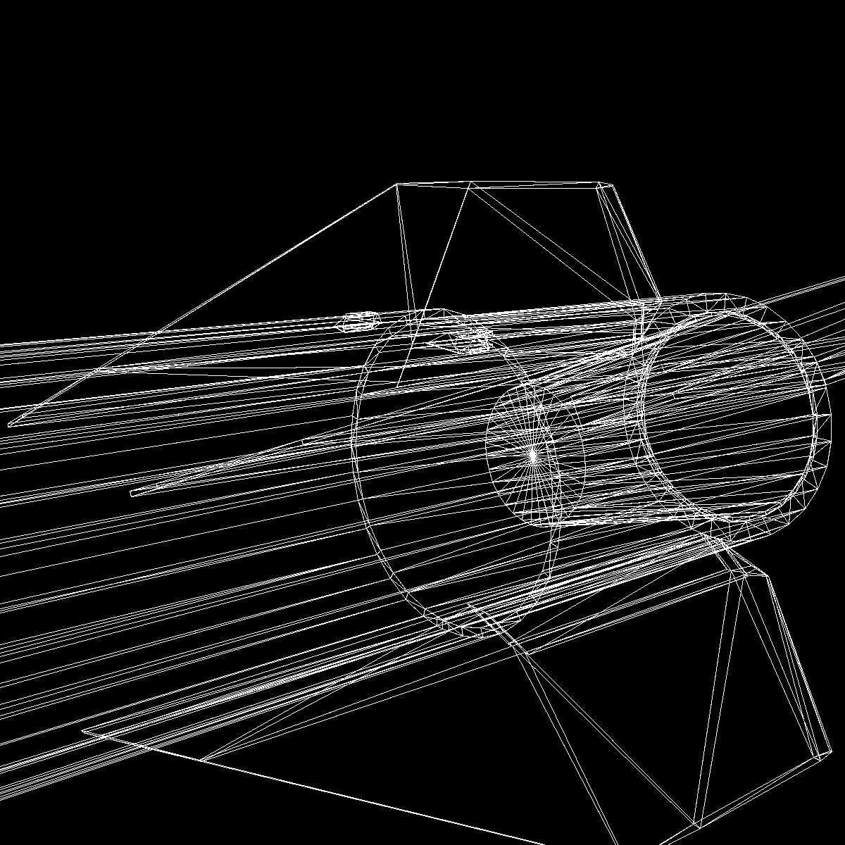 black brant vb sounding rocket 3d model 3ds dxf cob x obj 150885