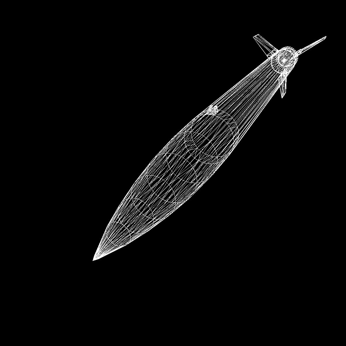 qara brant vb raketin səsləndirilməsi 3d model 3ds dxf cob x obj 150888