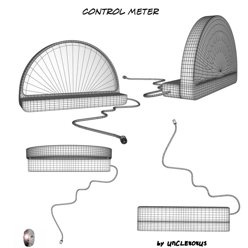 control meter 3d model obj 162004