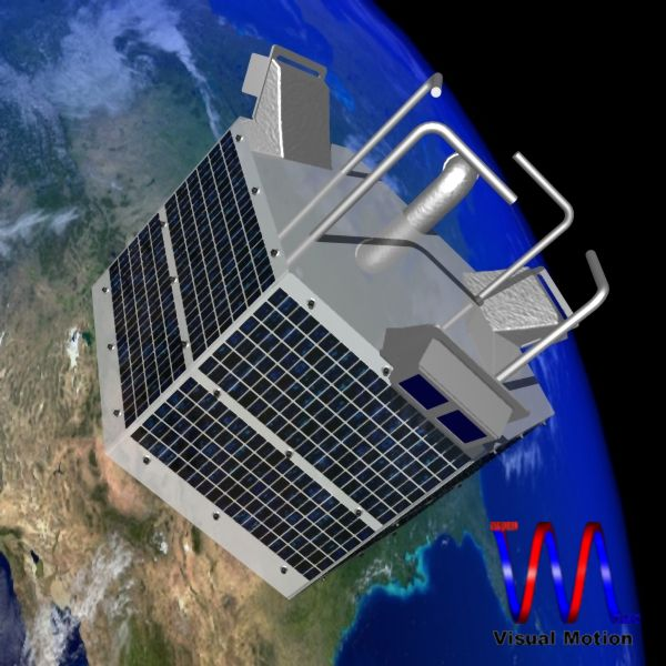 iranian satellite fajr 3d model 3ds dxf cob x obj 158222