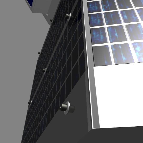 iranian satellite fajr 3d model 3ds dxf cob x obj 158224