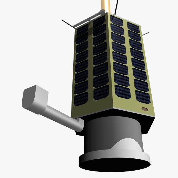 iranian satellite rasad-1 3d model 3ds dxf fbx blend cob dae x obj 162328