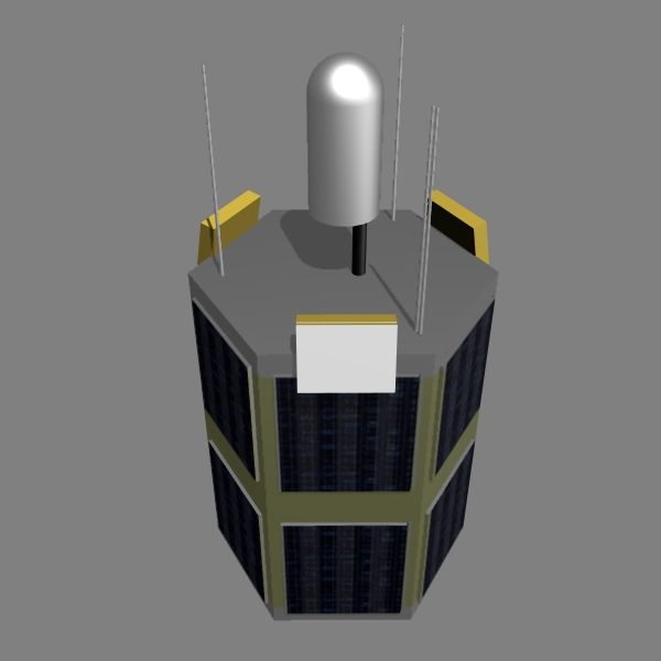 iranian satellite tolou 3d model 3ds dxf cob x obj 158029