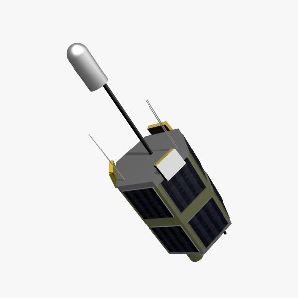 iranian satellite tolou 3d model 3ds dxf cob x obj 158031