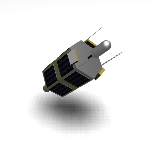 iranian satellite tolou 3d model 3ds dxf cob x obj 158032