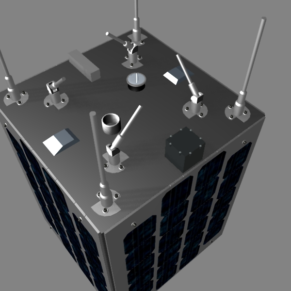 iranian satellite zafar 3d model 3ds dxf cob x obj 158232