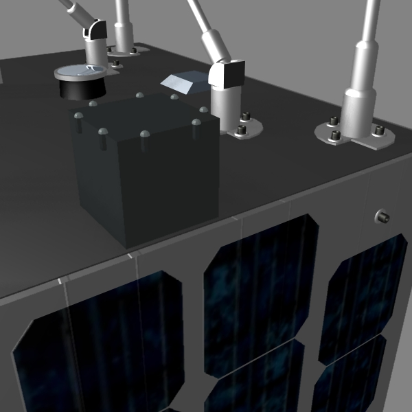 iranian satellite zafar 3d model 3ds dxf cob x obj 158233