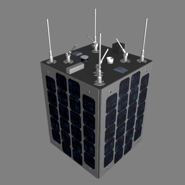 iranian satellite zafar 3d model 3ds dxf cob x obj 158234