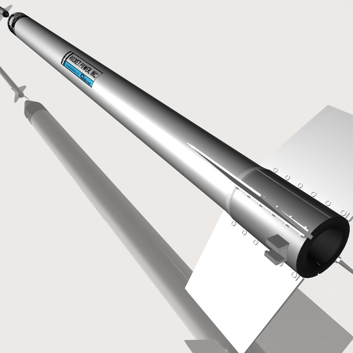 ni roced hopi dart 3d model 3ds dxf cob x obj 152650
