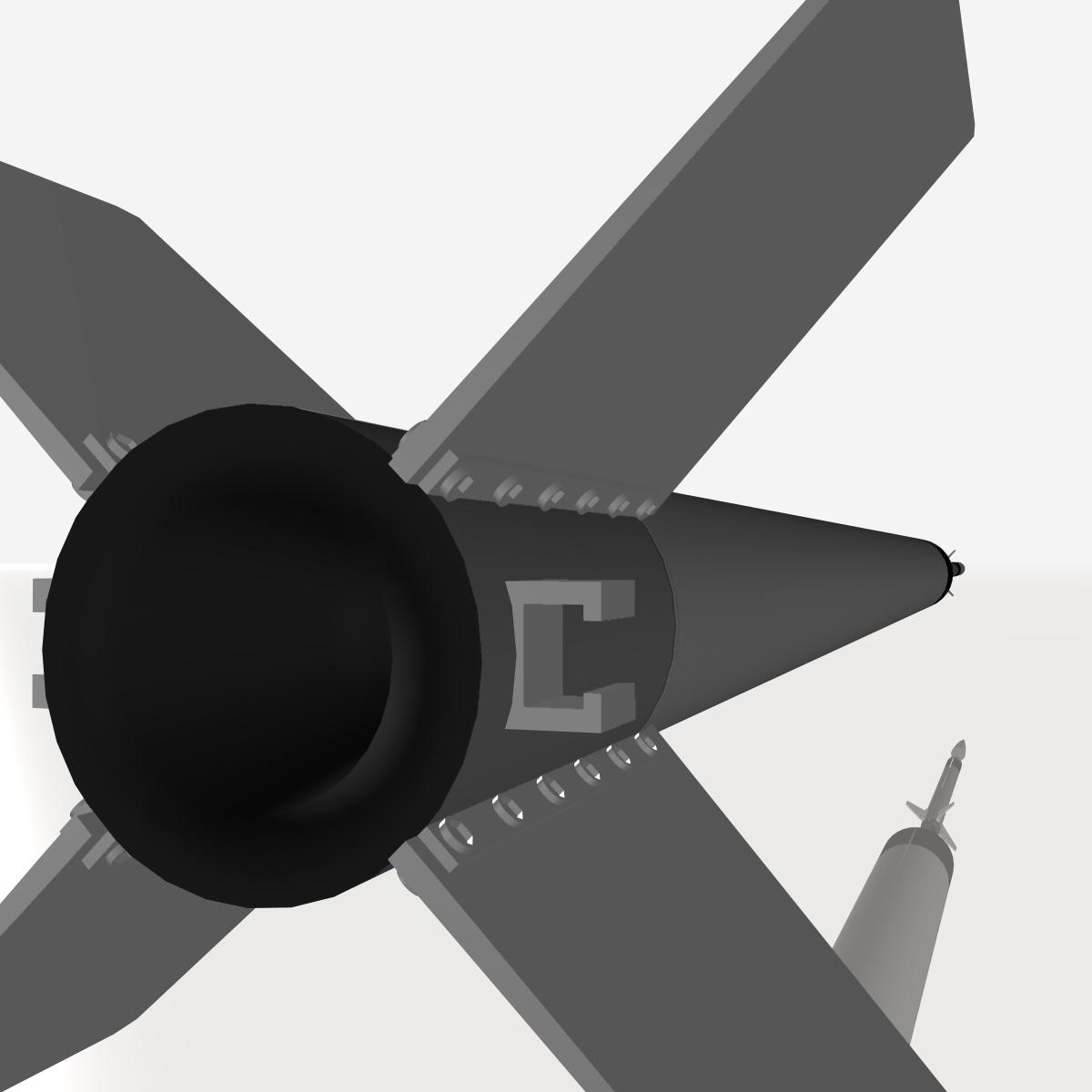 ni roced hopi dart 3d model 3ds dxf cob x obj 152651