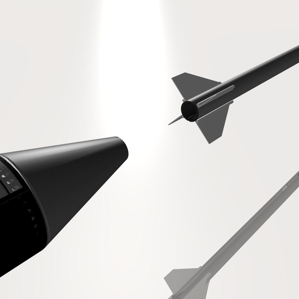 ni roced hopi dart 3d model 3ds dxf cob x obj 152653