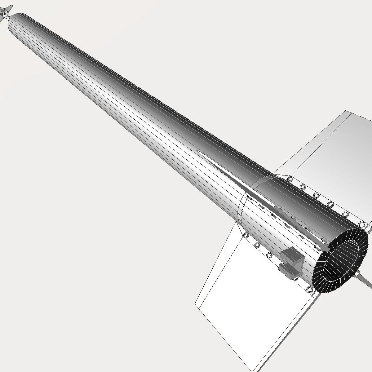 ni roced hopi dart 3d model 3ds dxf cob x obj 152657