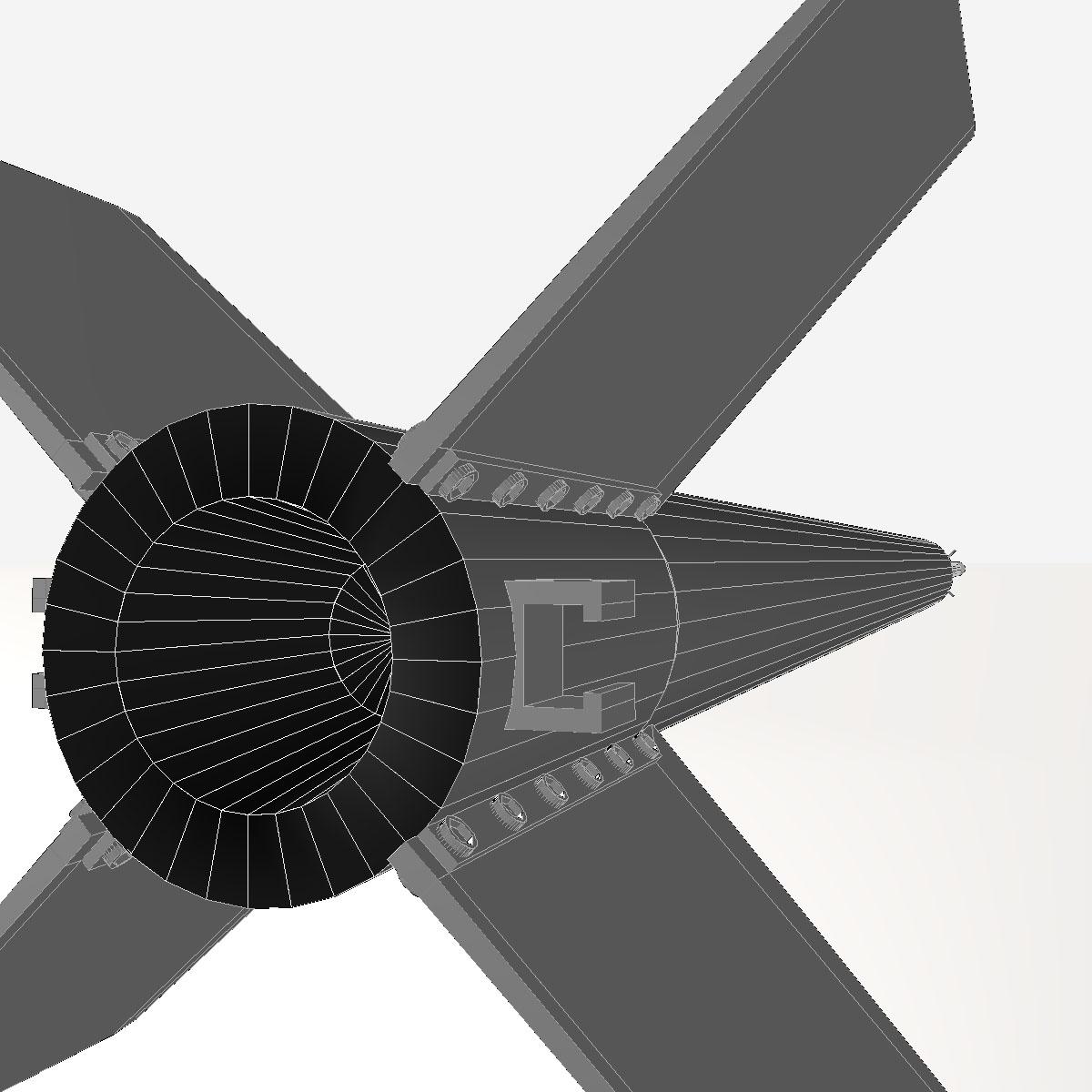 ni roced hopi dart 3d model 3ds dxf cob x obj 152658