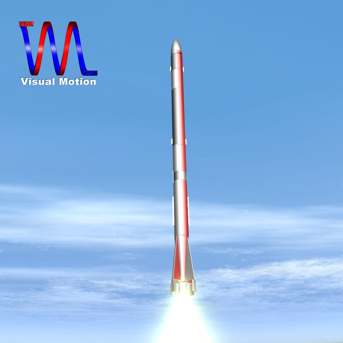 us l-13 rocket 3d model 3ds dxf cob x obj 140313