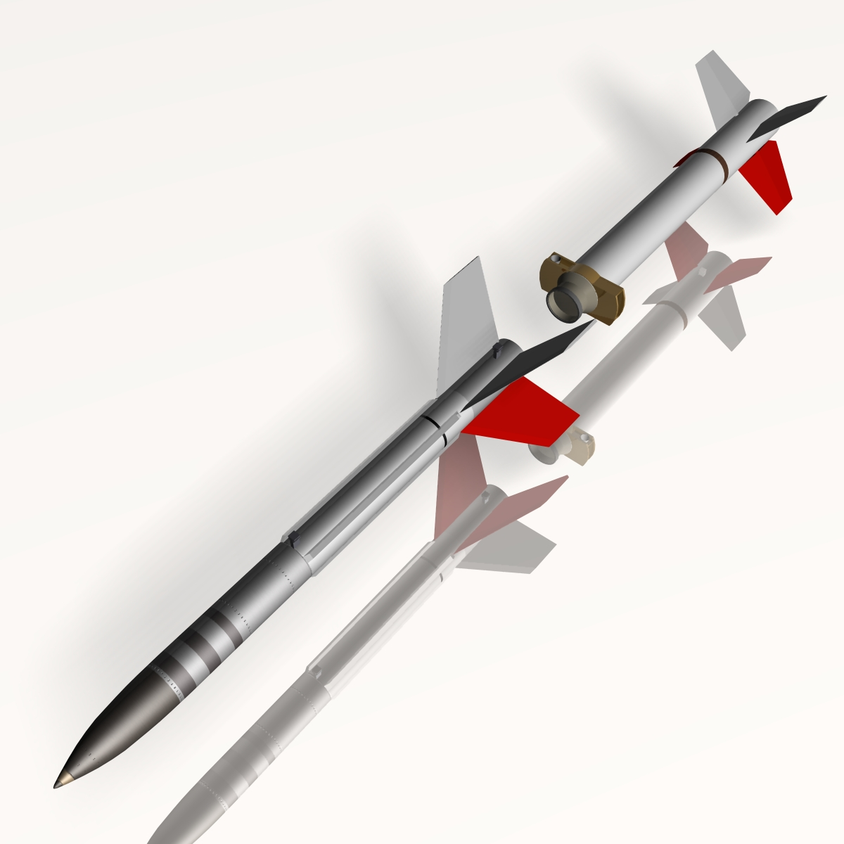 us terrier-lynx rocket 3d model 3ds dxf cob x obj 140329