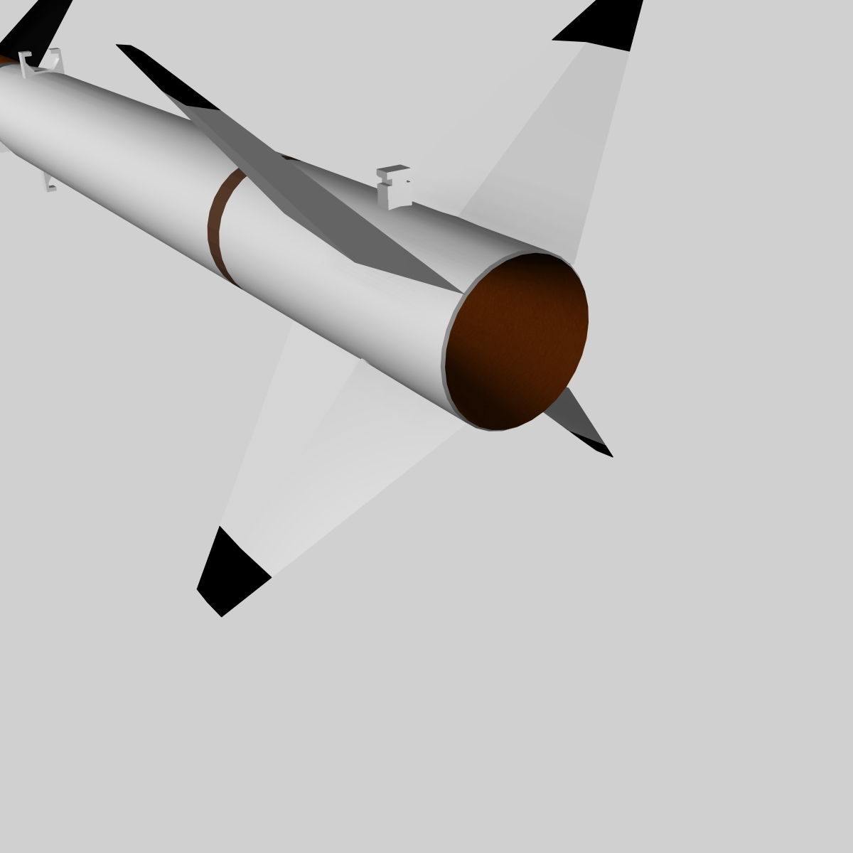 us terrier-nike missile 3d model 3ds dxf cob x obj 140336