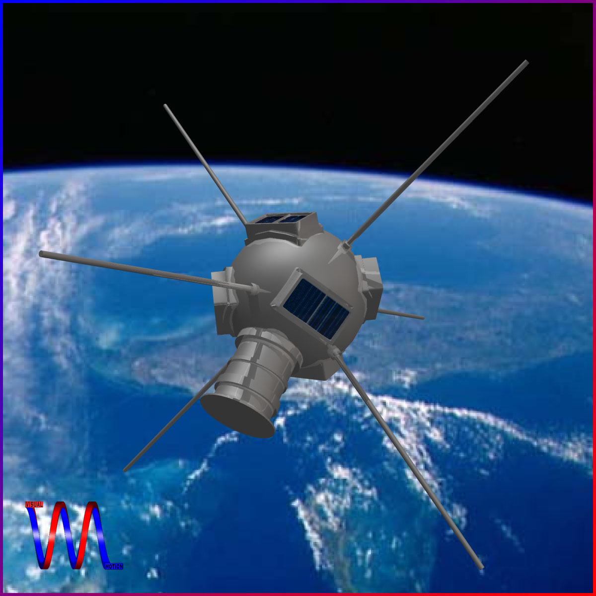 vanguard i satellite 3d model 3ds dxf fbx blend cob dae x obj 163927