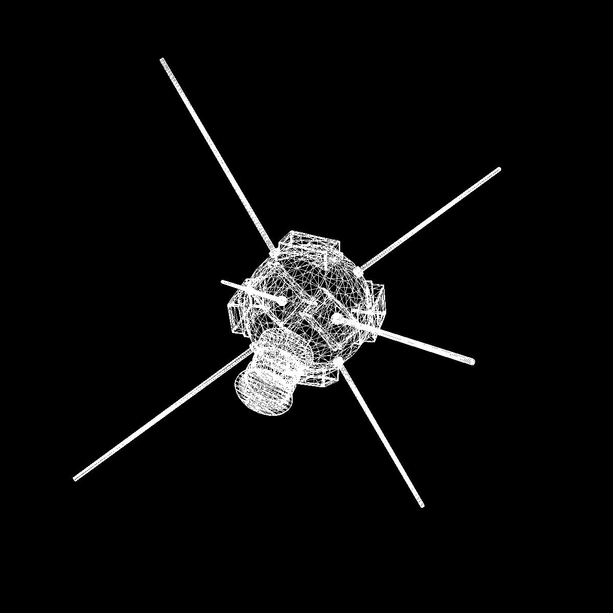 vanguard i satellite 3d model 3ds dxf fbx blend cob dae x obj 163934