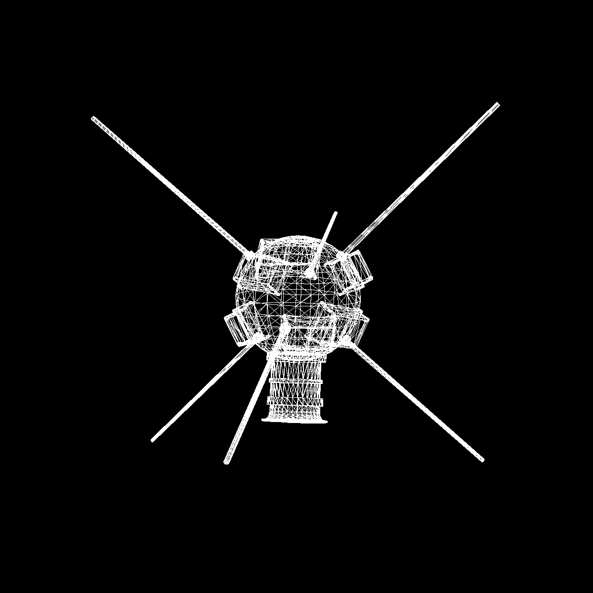 vanguard i satellite 3d model 3ds dxf fbx blend cob dae x obj 163935