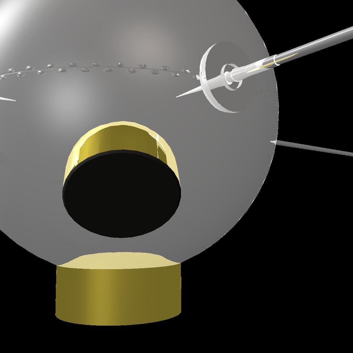 avangard ii satelit 3d model 3ds dxf fbx mješavina cob dae x obj 163940