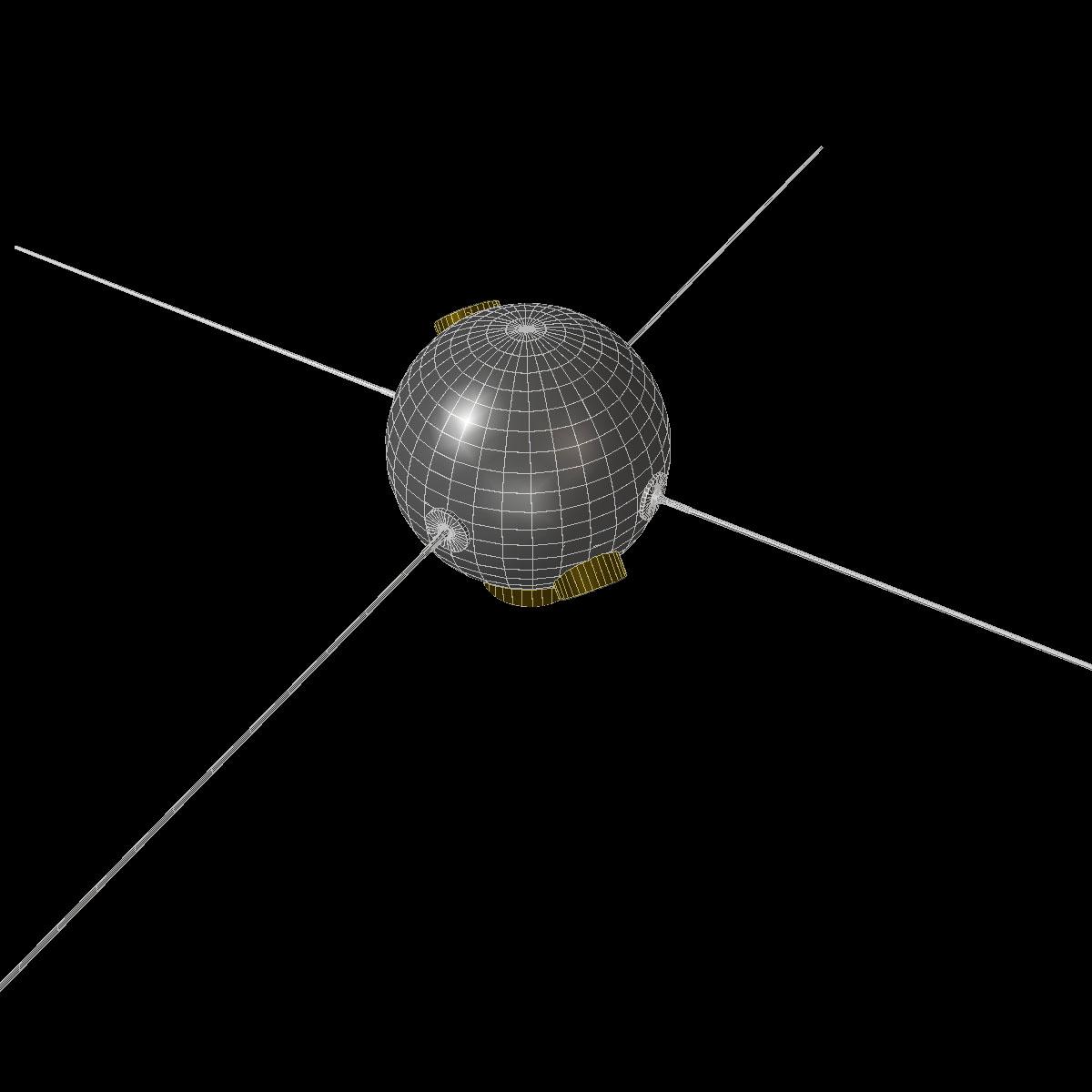 avangard ii satelit 3d model 3ds dxf fbx mješavina cob dae x obj 163943