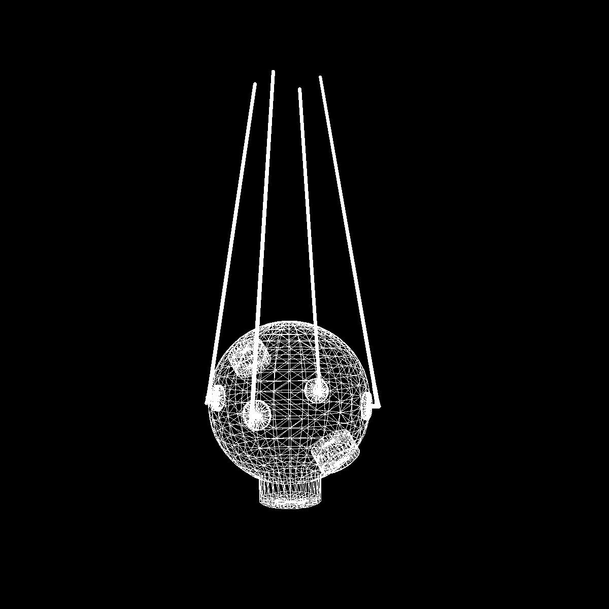 avangard ii satelit 3d model 3ds dxf fbx mješavina cob dae x obj 163952
