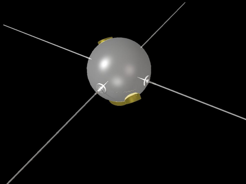 Vanguard II Satellite ( 96.39KB jpg by VisualMotion )