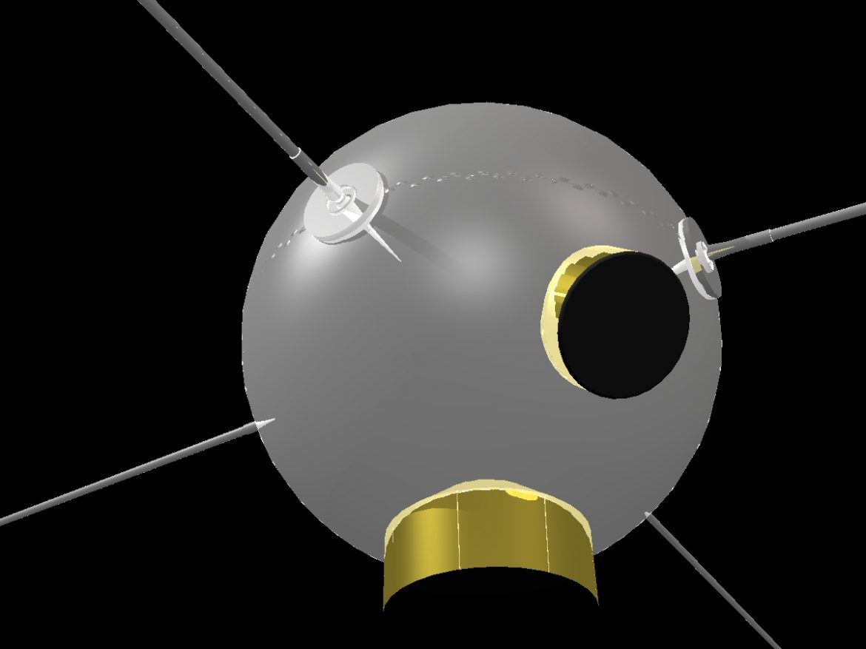 Vanguard II Satellite ( 157.9KB jpg by VisualMotion )