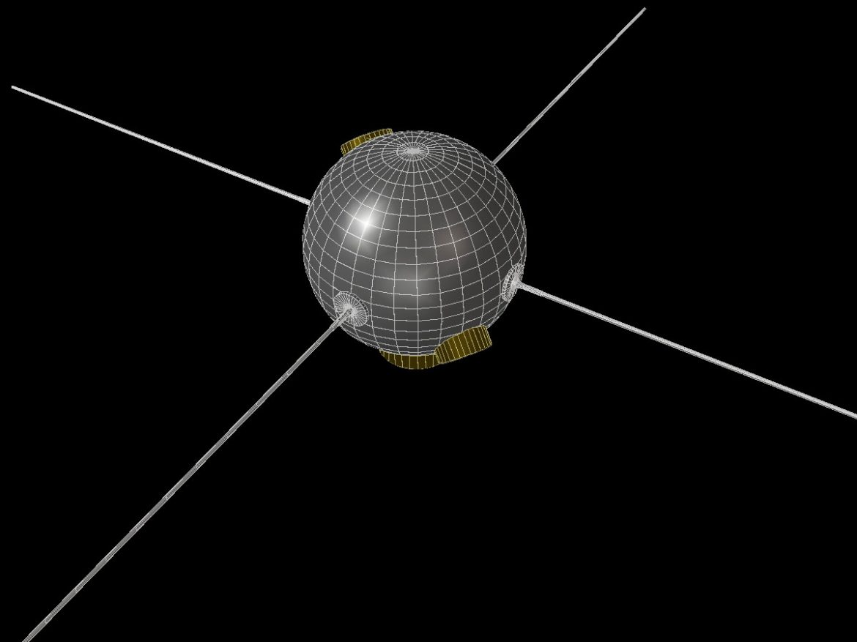 Vanguard II Satellite ( 73.86KB jpg by VisualMotion )