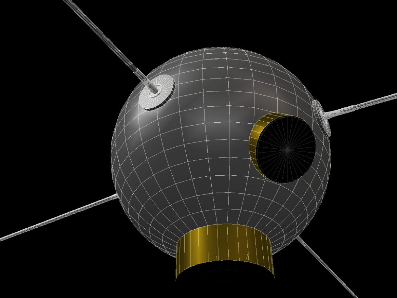 Vanguard II Satellite ( 131.35KB jpg by VisualMotion )