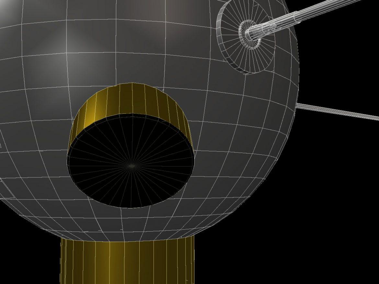 Vanguard II Satellite ( 152.78KB jpg by VisualMotion )