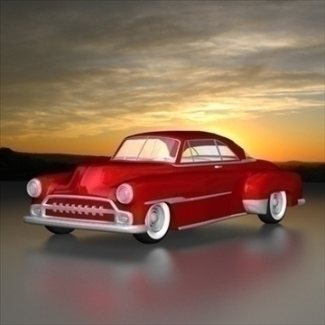 1951 custom chevy deluxe.zip 3d загвар 3ds dxf fbx c4d x obj 91468