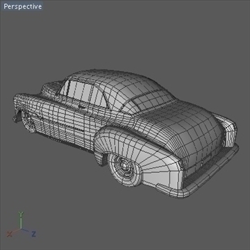 1951 custom chevy deluxe.zip 3d model 3ds dxf fbx c4d x obj 91469
