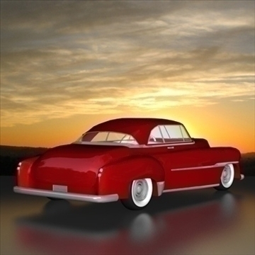 1951 custom chevy deluxe.zip 3d model 3ds dxf fbx c4d x obj 91470