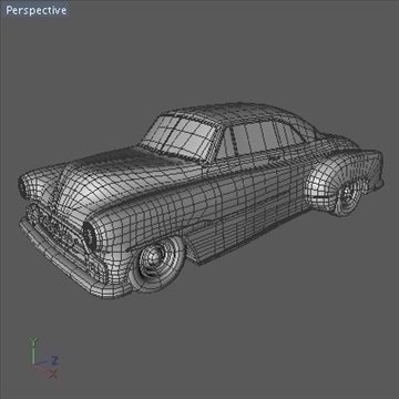 1951 custom chevy deluxe.zip 3d model 3ds dxf fbx c4d x obj 91471