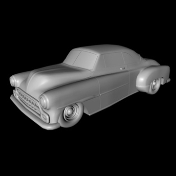 1951 custom chevy deluxe.zip 3d model 3ds dxf fbx c4d x obj 91472