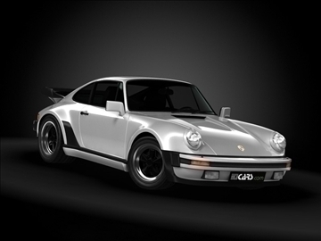 1989 porsche 911 (930) turbo 3d model maks 99210