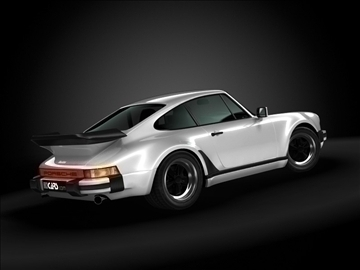 1989 porsche 911 (930) model 3d turbo màxim 99211