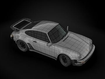 1989 porsche 911 (930) model 3d turbo màxim 99213