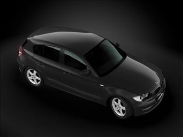 2008 bmw 1 series 3d model max 99187