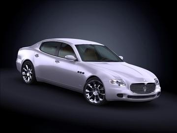 2008 maserati quattroporte 3d model max 99173