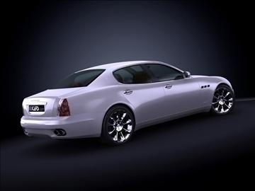 2008 maserati quattroporte max model 3d 99174