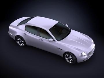 2008 maserati quattroporte max model 3d 99175
