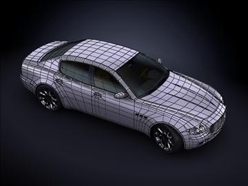 2008 maserati quattroporte max model 3d 99176